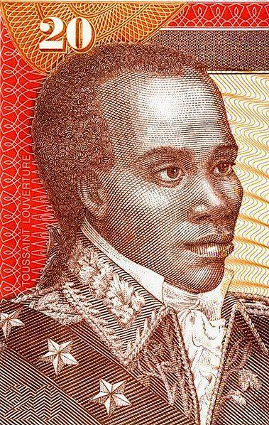 Toussaint l'Ouverture on a Haitian banknote