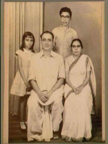Nepal Nag and his family, 1960