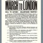 Mijnwerkers marcheen naar Londen 1927