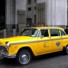 Checker Cab at Madison Square, New York (2011)